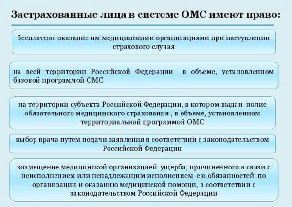 Полис ОМС: что входит в бесплатное обслуживание